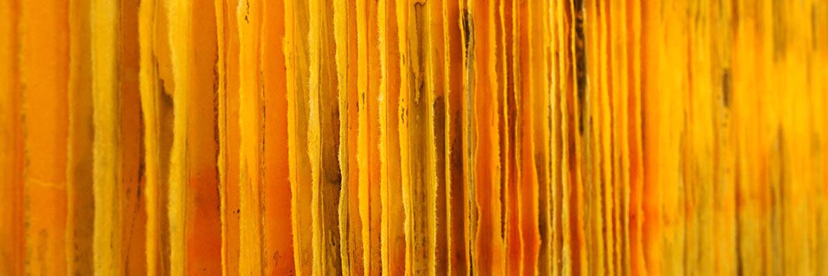 Japanpapiercollage, Cordula Hartung